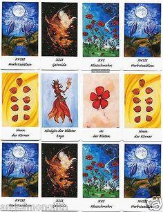NEU!!! Hellen Tarot Pflanzen Natur Käuter Tarotkarten Kartenlegen Mythologie €9.99
