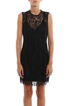 #Italist - #Diane von Furstenberg Diane Von Furstenberg Short Dress In Lace - AdoreWe.com