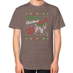 Grumpy cat Unisex T-Shirt (on man)