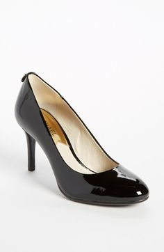 MICHAEL Michael Kors 'Flex' Pump   Nordstrom - I like and wear classic pumps, esp. black patent, black suede and black smooth leather.