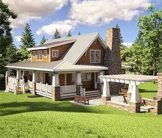 mountain craftsman house plans | Mirror Reverse plan Right-Reading Reversed surcharge: $150 House plans ...