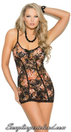 Floral holidays babydoll Catchy #floral babydoll will be your holiday wardrobe…