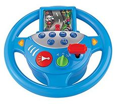 The WinFun Sounds Steering Wheel lets your child have a blast while developing their cognitive reasoning skills. This toy steering wheel simulates driving a car using the attached screen, and features a variety of fun sound effects and moving parts. Baby Toys, Kids Toys, Toys R Us Canada, Cleaning Toys, Sports Toys, First Pregnancy, Blue Bedding, Imaginative Play, Toy Store