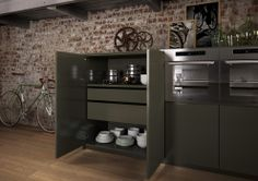 Cucina Mirarbella, aria di loft