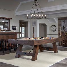 Wonderful game room ideas wonderful game room ideas with pool table the savannah pool table by american heritage billiards greentooth Images