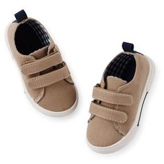 NWT Carters TODDLER GIRLS Size 12 SHOES Casual Sneakers Color Beige #CARTERS #CasualShoes