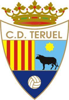1946, CD Teruel (Teruel, Aragon, España) #CDTeruel #Teruel #Aragon (L19699) Club, Creative Art, Badge, Branding Design, Soccer, Football, Spain, Sports, Knee Injury