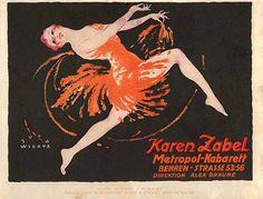 Metropol Cabaret: Karen Zabel (1914) | par Susanlenox