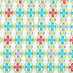 Red Green Teal Floral Lattice Fabric Shop Hobby Lobby Teal Fabric Fabric