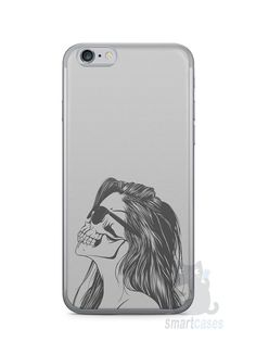 Capa Iphone 6/S Mulher Caveira - SmartCases - Acessórios para celulares e tablets :)