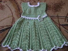 Нарядное платье для девочки крючком. Нарядное платье для девочки своими руками | Домоводство для всей семьи