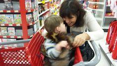 On commence le magasinage des fêtes avec mamie
