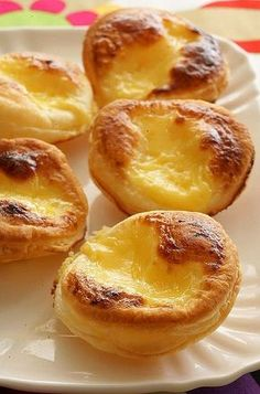 Looking forward to trying to make these 'easy' Portugese tarts - will see how easy they turn out to be!
