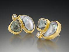 Petra Class Jewelry is the site for the one-of-a-kind creations of Petra Class, a classically trained jeweler who lives and works in San Francisco Pearl Jewelry, Jewelry Art, Gold Jewelry, Jewelery, Jewelry Accessories, Fine Jewelry, Fashion Jewelry, Jewelry Design, Jewelry Making