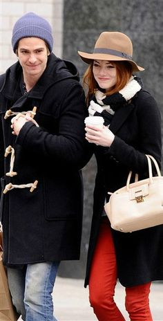 The only person I would ever allow my love Andrew to be with is Emma Stone. So I guess this is pretty wonderful.