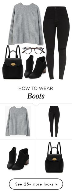 """Untitled #1354"" by asoul4 on Polyvore featuring MANGO, Moscot and Mulberry"