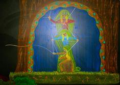 Waldorf ~ 4th grade ~ Norse Mythology ~ Norns ~ chalkboard drawing