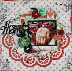 """""""Remember"""" Something a little less Christmasy but still using Christmas papers. Christmas Paper, Christmas Countdown, Christmas Activities, Christmas Traditions, Linda Thompson, Santa Wreath, Activity Board, Holly Leaf, North Pole"""