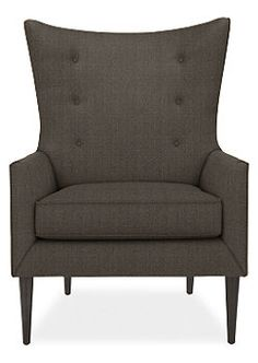 Louis chair from Room&Board in Pepper.
