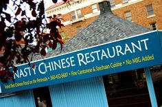 Nasty Chinese Restaurant, Port Angeles, Olympic Penninsula Port Angeles Washington, Best Chinese Food, Chinese Restaurant, Day Off, Friends, Places, Kitchens, Amigos, Boyfriends