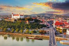 Bratislava is the capital city of Slovakia. Learn more about Slovakia and the historical and modern role of the city of Bratislava as the nation's capital. Real Castles, Beautiful Castles, Beautiful Places, Day Trips From Vienna, Site Classé, Europe Centrale, Bratislava Slovakia, Europe On A Budget, Germany Castles