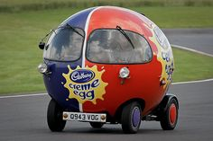 Cadbury Creme Egg Car by Rupert Procter, via Flickr