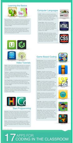 Teaching Coding in Class: 17 Apps to Try ~ Educational Technology and Mobile Learning