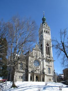 Kirche Linsenbühl. St. Gallen. Schweiz. | Linsenbühl Church. St. Gallen. Eastern Switzerland.
