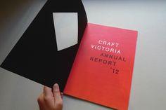 Craft Victoria by Clara Tan, via Behance