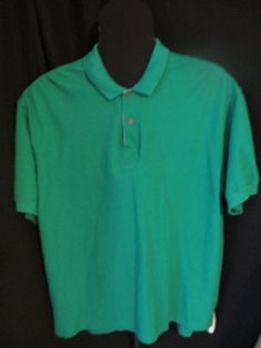 Vintage Coca Cola Polo,Mens, Green, button down, XL, collared shirt with logo #CocaCola#CLOTHING