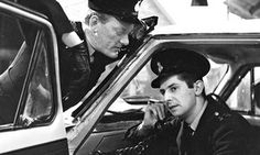 Z-Cars: James Ellis in car, talking on police radio