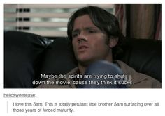 Baby brother Sammy. 2x18 Hollywood Babylon