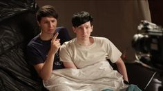 This is so cute I can't just. I mean look at them. Dan looks 12 and Phil looks like an even sexier model than usual