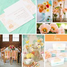 Wedding Inspiration: Poppy | Evermine Blog | www.evermine.com