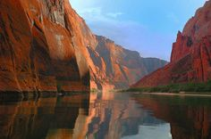 Lee's Ferry on the Colorado River is a popular spot for fly fishing.