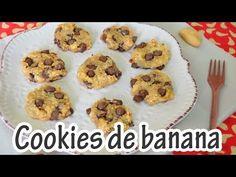 Cookies de banana, quinoa e chocolate- sem glúten   Receitas e Temperos