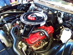 ford+289+v8+engines Correct Mustang Engine Paint Color