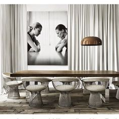 MODERN DINING ROOM DESIGN | Contemporary furniture selection for this perfect dining room | bocadolobo.com/ #contemporarydesign #contemporarydecor