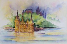 Joan Applebaum Art: Time to Paint the Boldt Castle---Again