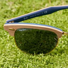 Introducing the Wood #Clubmaster. Now available @ www.ray-ban.com
