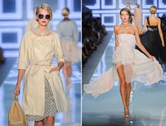 Christian Dior spring 2012  ..love the second for wending dress