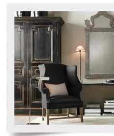fall catalog restoration hardware chair please