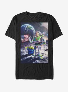Disney Pixar Toy Story Buzz Lightyear Moon Landing T-Shirt