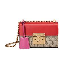 Padlock GG Supreme Shoulder Bag, Gucci