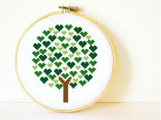 Counted Cross stitch Pattern PDF. Instant by CharlotteAlexander, $4.50
