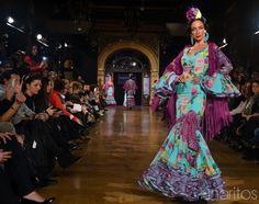 Manuela Macías Simof 2015 Flamenco Costume, Spanish Fashion, Dance Music, Beautiful Gowns, Sari, Costumes, Formal Dresses, How To Wear, Spice