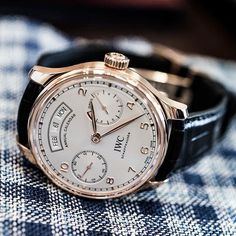 IWC [NEW] IW503504 Portugieser Annual Calendar Rose Gold Mens Watch (Retail:US$31,000) OUR PRICE 售價: HK$163,300. #IWCPortugieser #Portugieser #IWC_Portugieser #IW503504 #IWC503504 #IWC_503504 #IWC