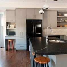 Modern Kitchen cabinetry Design Ideas, Pictures, Remodel and Decor