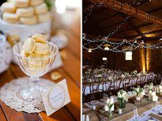Rustic Wedding Guest Dessert Feature | Amy Atlas Events