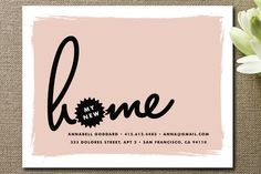 Brand New Moving Announcements by annie clark at minted.com